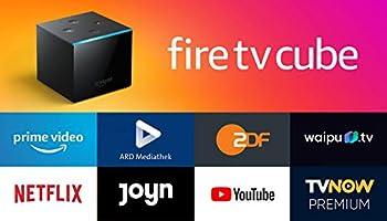 Der neue Fire?TV?Cube│Hands-free mit Alexa, 4K?Ultra?HD-Streaming-Mediaplayer