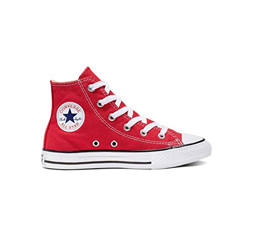 Converse Unisex-Kinder CTAS-HI-Red-YOUTH Sneaker, Rot), 30 EU