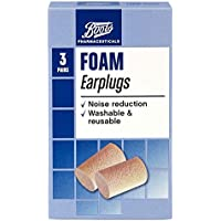 Boots Foam Earplugs - 3 Pairs with Carry Case preisvergleich bei billige-tabletten.eu
