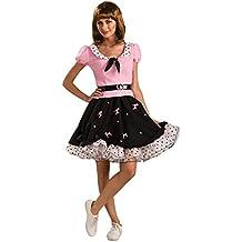 Rubbies - Disfraz de Grease para mujer, talla 10-14 años (889655STD)