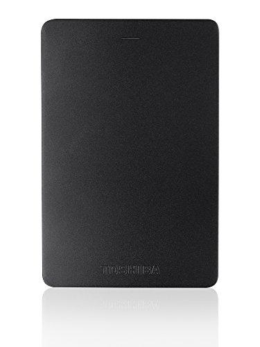 Toshiba Canvio Alu 1TB Externe Festplatte (6,4 cm (2,5 Zoll), 5400rpm, USB 3.0) schwarz