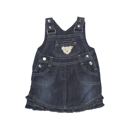 Steiff Unisex - Baby Rock Latzrock 0006845 Blau (dark blue denim ) 86 (86)