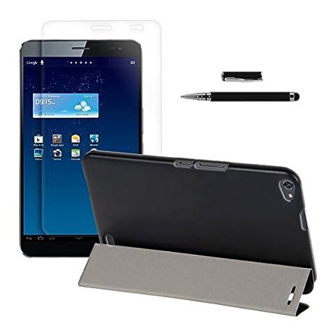 3in1 Set: kwmobile Hülle für Huawei MediaPad X1 7.0 -