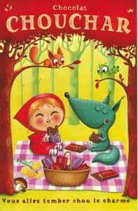 Carte Amandine Piu - Chocolat Chouchar