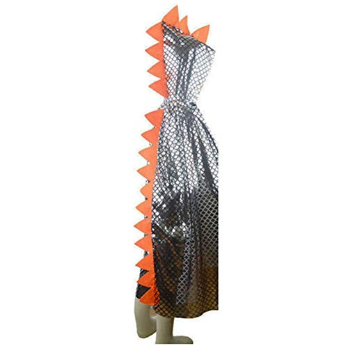 een-Umhang mit Kapuze, Halloween-Kostüm für Kinder Jungen Mädchen Drachen Dinosaurier Mittelalterliches Accessoire für Anzieh Rollenspiele Anzieh ()