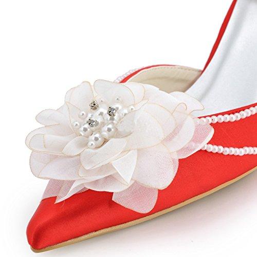 Scarpe Da Centimetri Sposa Donna Tacco Di Minitoo 5 Red Tendenza 7 wA5xdPPq