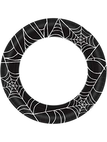 Halloween~Spider Web Paper Plate~40 Count~10 by Amscan