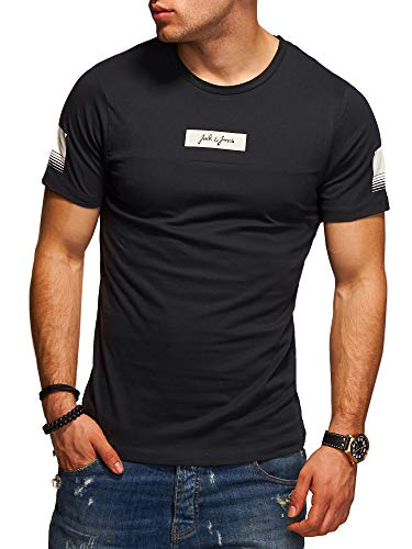 JACK & JONES Herren T-Shirt O-Neck Print Shirt (L, Tap Shoe)
