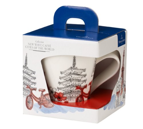 Villeroy & Boch &0,35 Litre New Wave Villes du monde Tokyo tasse-Coffret cadeau