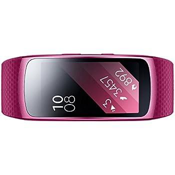 Samsung Gear Fit 2 - Pulsera de Fitness de 1.5'' (4 GB, 1 GHz, 512 MB RAM, talla S), color rosa