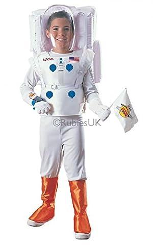 Rubies Fancy dress costume Co. Inc Boys Boys Astronaut Fancy dress costume Small