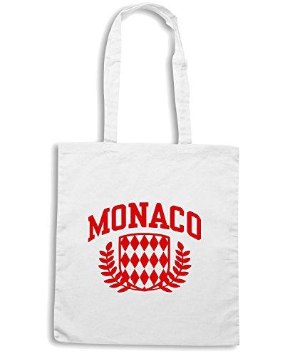 T-Shirtshock - Borsa Shopping TSTEM0062 monaco (2) Bianco