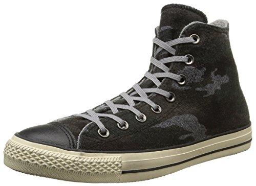 Converse, All Star Hi Felt Print Sneaker,Unisex Adulto, Multicolore (Cm Print), 37