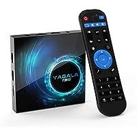 TV BOX, YAGALA T95 Android 10.0 Smart Box with 4GB RAM 32GB ROM Allwinner H616 Quad-Core 64bit ARM Corter-A53 CPU Mali G31 MP2 GPU…