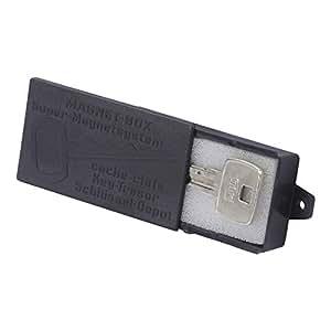 Smart-Planet hochwertige Magnet Schlüsselbox/Magnet-Halterung für Schlüssel – Schlüsseldepot - schwarz