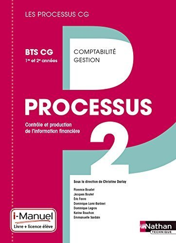 Processus 2 BTS CG 1re et 2e annes de Karine Rouchon (1 mai 2015) Broch