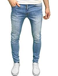 325b03d4d3 526Jeanswear Senjo - Pantalones Vaqueros Ajustados para Hombre