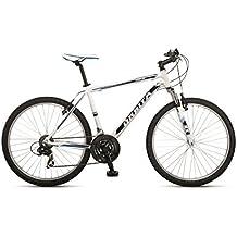 """Orbita SPRINTLINE 26"""" - Bicicleta BTT de montaña para hombre, 21 velocidades, cuadro 17'' aluminio, frenos V-Brake, blanco, (165cm - 175cm)"""