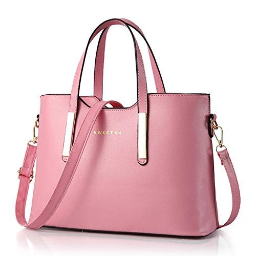 Designer Handtasche Nylon (BYD - PU Leder Damen Totes Trendy Handtaschen Baguettes Shopper Clutches by Designer ( Sweet Sa))