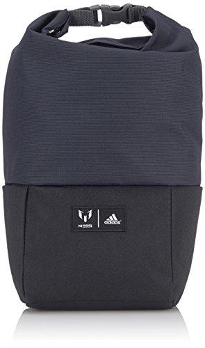 Tasche Fußball-messi (adidas Shoe Bag Messi, Dark Grey, 14 x 18 x 36 cm, 24 Liter, S13499)