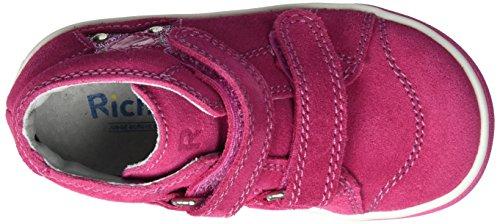 Richter Kinderschuhe Sing, Chaussures Marche Bébé Fille Pink (Fuchsia/Pink)