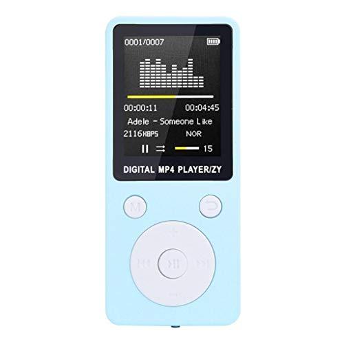OSYARD MP3 Player,MP4-Player,Musik Player,Mode Tragbarer MP3 / MP4 Verlustfreie Sound Musik Player mit FM Radio Voice Recorder Video Ebook 1,8 Zoll TFT Bildschirm,Unterstützt bis 32 GB SD Karte (Mp3-player Ssd)