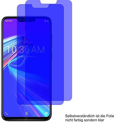 2X ANTIREFLEX matt Schutzfolie für ASUS ZenFone Max M2 Displayschutzfolie Bildschirmschutzfolie Schutzhülle Displayschutz Displayfolie Folie