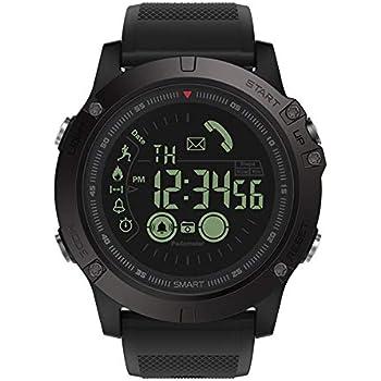 YouN Zeblaze VIBE3 Bluetooth Smart Bracelet Podómetro para iOS y Android reloj inteligente(Negro