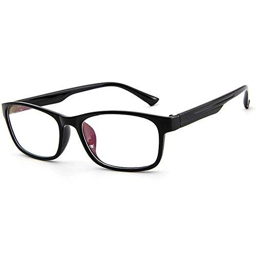 Klare Linse Gläser Dekobrille Nerdbrille Klassisches Brillengestell Glasses Frame Damen
