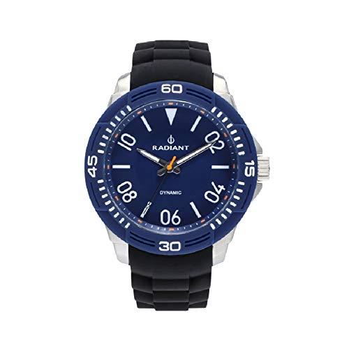 Radiant aren orologio Uomo Analogico al Al quarzo con cinturino in Gomma RA503603