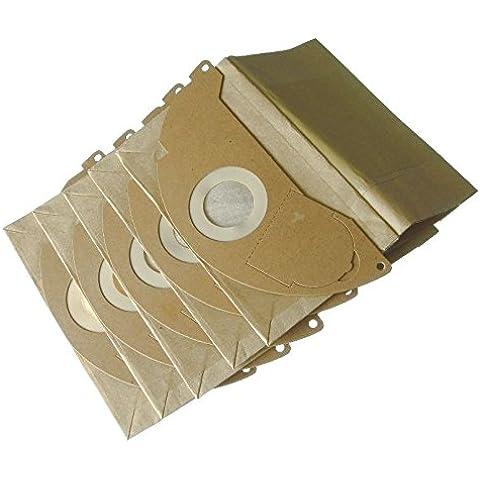 Ufixt Kärcher IPX4, MV2, NT27/1, TYPE20, VC6100, VC6200 y VC6300 para aspiradoras bolsas de papel