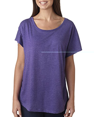 Next Level - T-shirt - Femme Violet - PURPLE RUSH