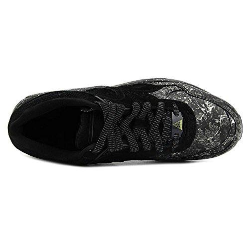 Puma R698 Roxx Hommes Cuir Baskets Black-Dark Shadow
