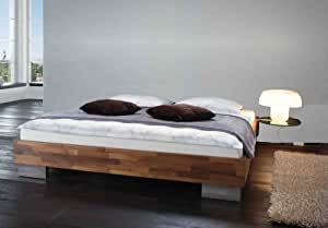 stilbetten bett futonbetten vincente ohne kopfteil 160x200 cm k che haushalt. Black Bedroom Furniture Sets. Home Design Ideas