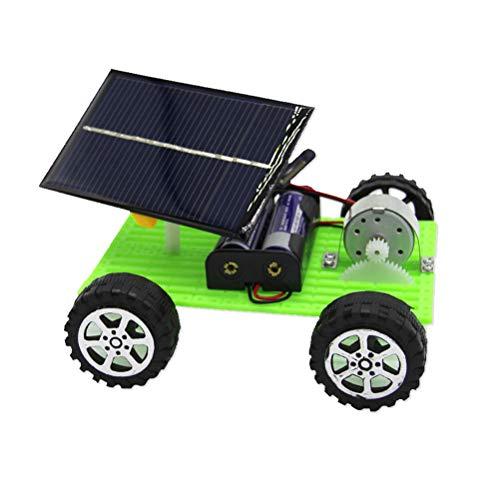 Toyvian Bricolaje Solar híbrido eléctrico Modelo de ensamblaje de Coche para niños...