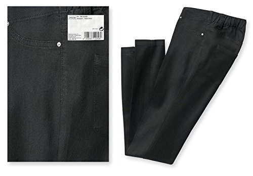 TCM Tchibo Treggings Stiefelhose Baumwoll-Stretchqualität Dark Blue Denim (48) (Doodle Hosen Leggings)
