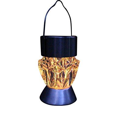 Wasserdichte Solarleuchten, Kanpola Solar drehbare hängende LED Licht Outdoor Garten Camping Diamant Lampe Birne