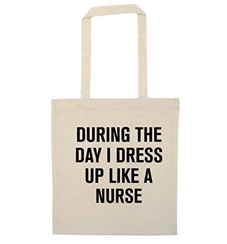 Durante il giorno i vestito come un infermiere Borsa Natural