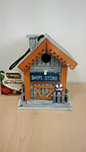 Kingfisher Bird Care Schiffe Store Holz Vogel House