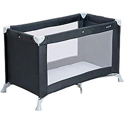 Safety 1st Soft Dreams Lit parapluie bébé pratique et compact, Grey Patches