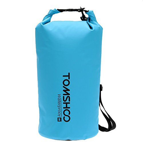 TOMSHOO 10L / 20L Outdoor Water Resistant Dry Bag