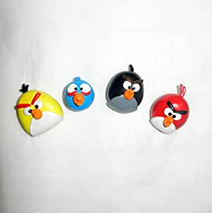 Fridge Magnets - ANGRY BIRDS - set of 4