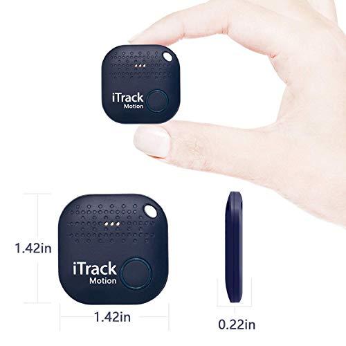 A&C Buscador de Llave, Anti perdida Mini Localizador y Rastreador Alarma para Buscar o Perseguir Carteras/Monedero/Niños/Mascotas/Llaves/Teléfono para iOS/Android (Black)