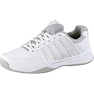 K-Swiss Performance Damen Court Smash Carpet Wht/High-Rise-m Tennisschuhe