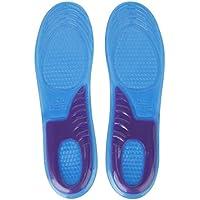 TOOGOO (R) Cortable Inserto Plantilla De Gel De Zapatos Soporte Arco Curvas EU: 43-47
