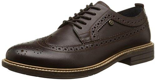 HACKETT LONDON - American Brgue Leather,  pack, Scarpe da uomo, marrone (brown), 41