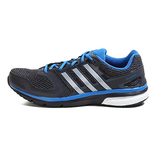 adidas QUESTAR Chaussures de course Hommes core black-silver met-shock blue