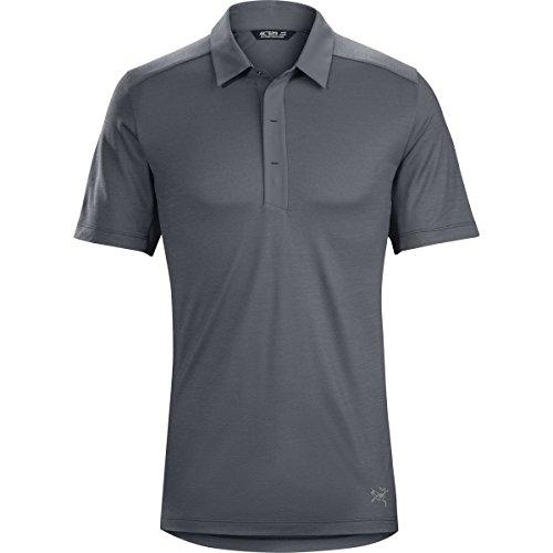 """Arcteryx Herren Poloshirt """"A2B Polo Shirt"""" dunkelgrau (229)"""