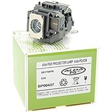Alda PQ Premium, Lámpara de proyector para EPSON EB-X9 Proyectores, lámpara con viviendas