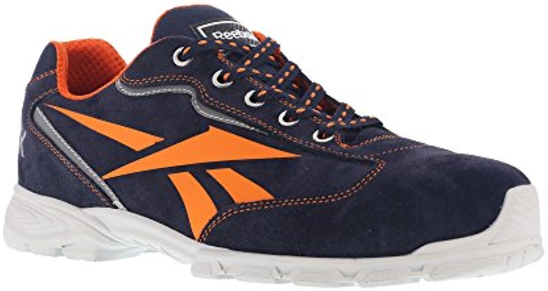 Reebok lavoro IB1012 S1P 40 Audacious Athletic scarpe di sicurezza, punta in alluminio, non metallici in camoscio... | qualità regina  | Uomini/Donne Scarpa